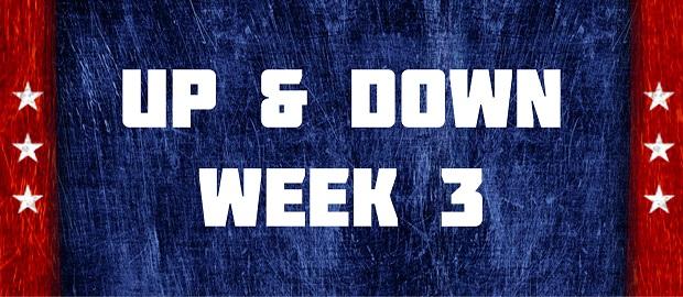 Up & Down - Week 3