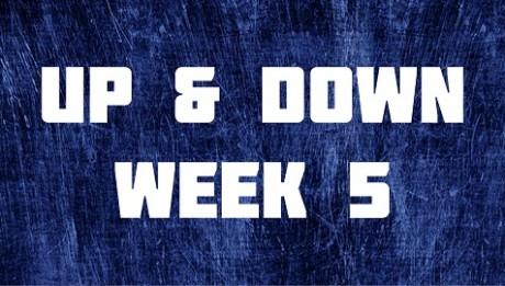 Up & Down - Week 5