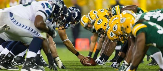 Packers e Seahawks vão medir forças logo a abrir.