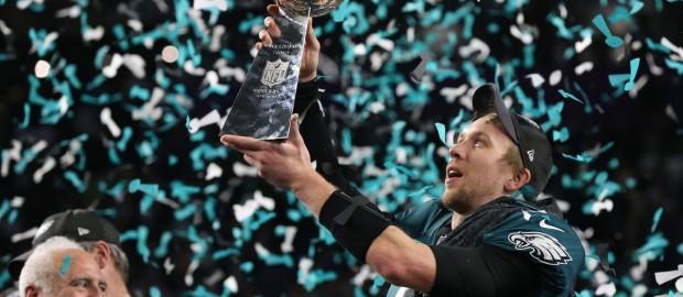 O novo Anti-Pats no primeiro Super Bowl da história em que as defesas ficaram a ver o jogo na TV